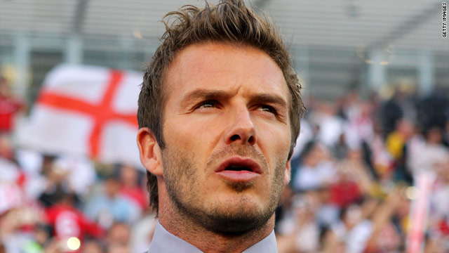 David Beckham was involved with England during the World Cup but says he doesn't want to become coach of the national side.
