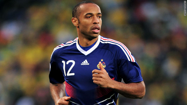 Thierry Henry is France's leading goalscorer and says his major aim is to win the MLS title with the Red Bulls.
