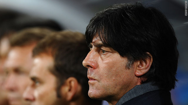 Joachim Low led Germany to third place at the World Cup in South Africa.