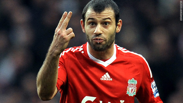 Javier Mascherano joined Liverpool from English rivals West Ham in 2007 after a protracted contract ownership dispute.