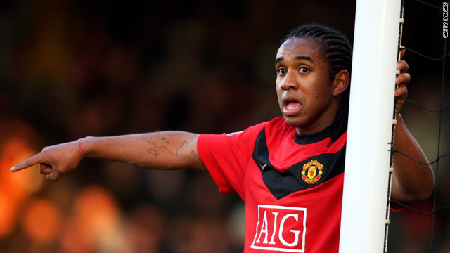 Anderson spent several hours in hospital following a car crash in Portugal in the early hours of Sunday.