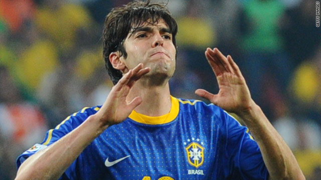 Kaka could be out until December after having surgery on a knee injury.
