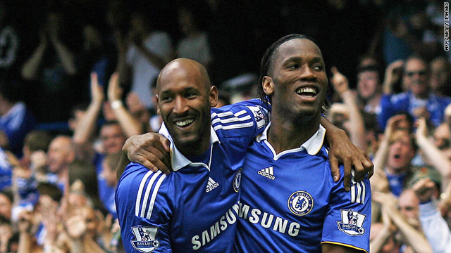 The goals of Didier Drogba and Nicholas Anelka will be the key if Chelsea are to retain the Premier league title.