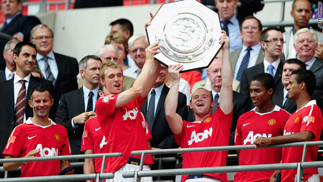 Manchester United got the English season off to a perfect start with a 3-1 victory in the Community Shield.