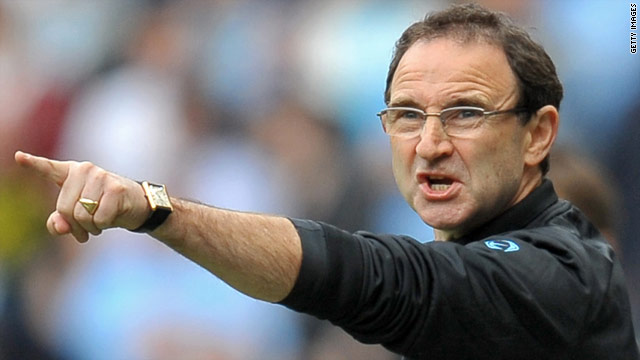 Martin O'Neill has resigned as Aston Villa manager after four years at the club.
