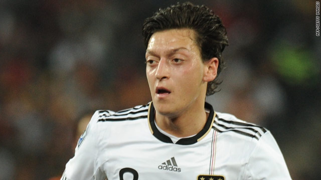 Mesut Oezil made a big impact as Germany finished third at the 2010 World Cup in South Africa.