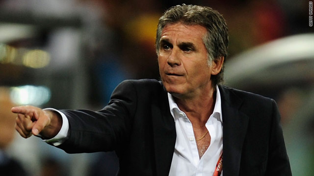 Carlos Queiroz has been coach of Portugal's national team since 2008, when he left Manchester United.