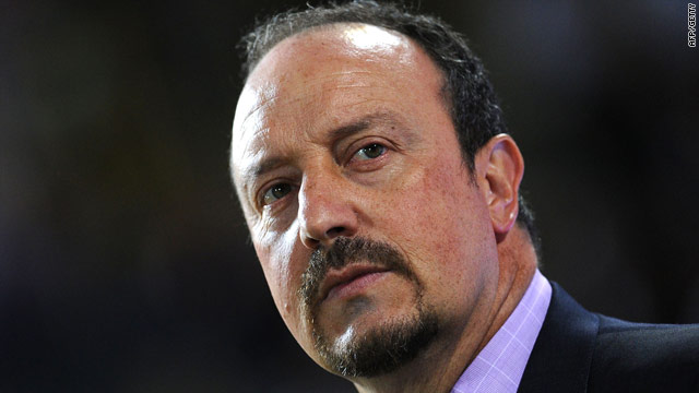 A frustrated Rafael Benitez watched his team draw blank in their Serie A opener.
