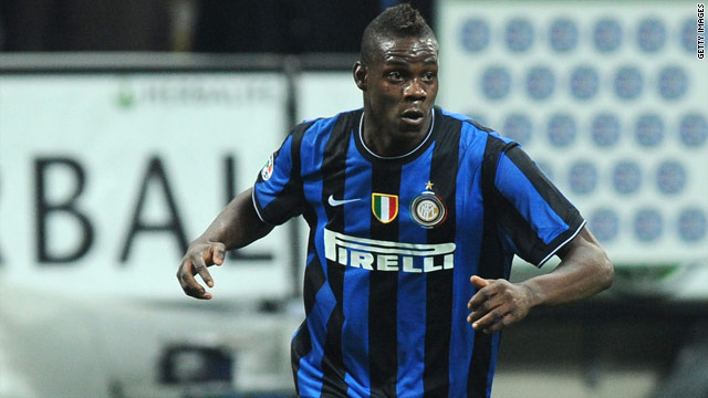 Mario Balotelli left Inter Milan for Manchester City towards the end of the transfer deadline in August.
