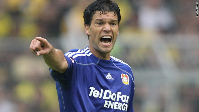 Michael Ballack's knee injury means he misses Germany's next two Euro 2012 qualifiers.