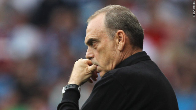 Avram Grant watches his West Ham side slump to defeat against Chelsea on Saturday.