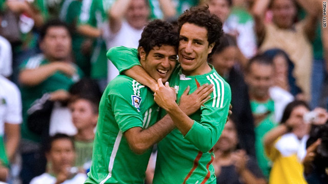 Carlos Vela (L) and Efrain Juarez have been banned from national team duty for six months.