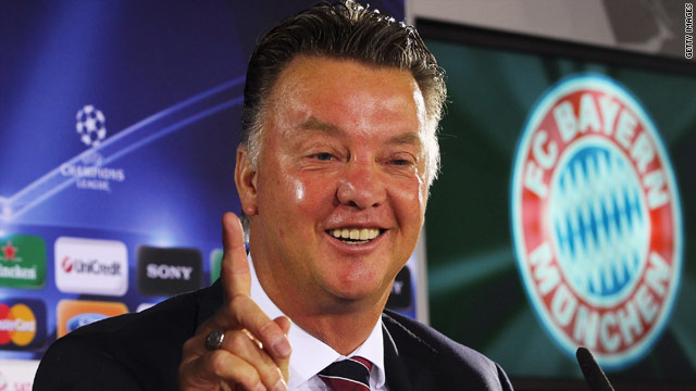 Louis Van Gaal has extended his stay with German champions Bayern Munich.
