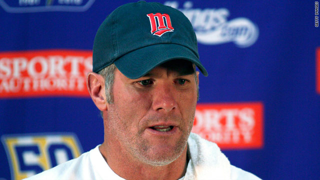 NFL legend Brett Favre has been embroiled in a scandal about messages he allegedly sent to a model.