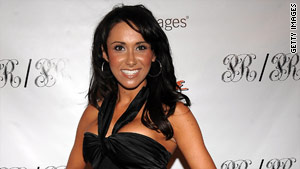 "Jenn Sterger is co-host of ""The Daily Line"" sports program, which airs on Versus."