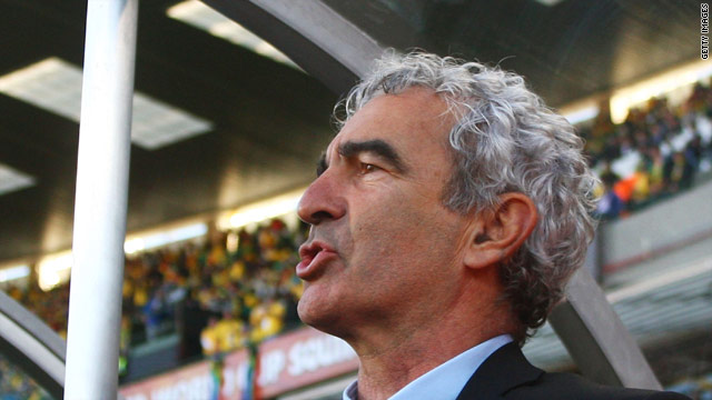 Raymond Domenech is claiming 2.9 million euros from the French Football Federation for unfair dismissal.