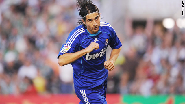 Ruben de la Red scored 15 goals during two spells with Real Madrid.