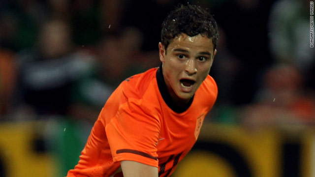 Ibrahim Afellay made three substitute appearances for the Netherlands at the 2010 World Cup in South Africa.