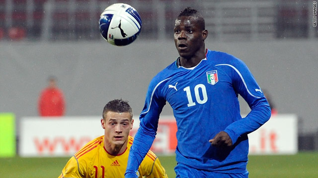 Mario Balotelli has been targeted by racist elements in Italy since making his debut for Inter Milan in late 2007.