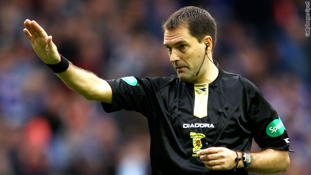 Referee Dougie McDonald has been at the centre of controversy after admitting lying over an annulled penalty decision.