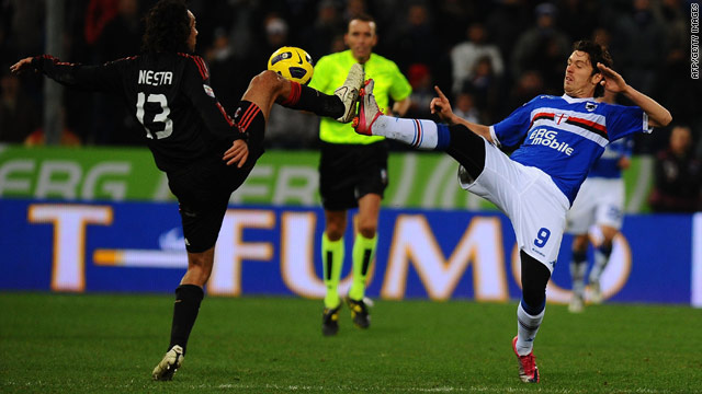 Nothing could separate AC Milan and Sampdoria in Saturday's 1-1 draw in Serie A.