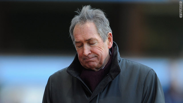 Gerard Houllier's Villa side slumped to defeat on his return to Liverpool for the first time since leaving in 2004.
