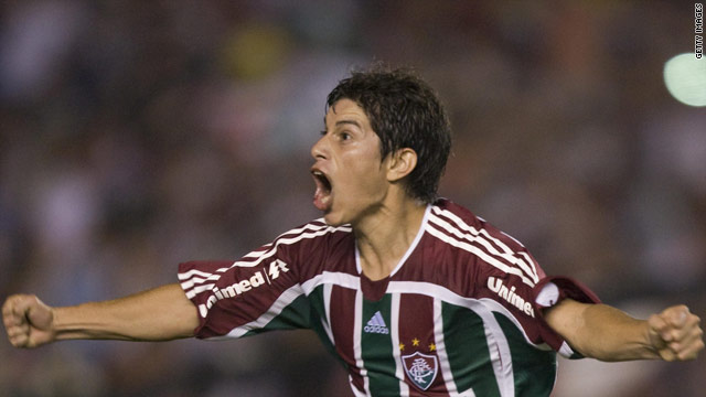 Dario Conca provided 18 assists as Fluminense won the Brazilian league title.