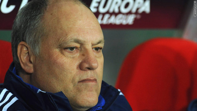 Martin Jol has previously worked in England as manager of Tottenham Hotspur between 2004-07.