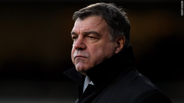 Allardyce has been sacked despite the club lying 13th in the English Premier League table.