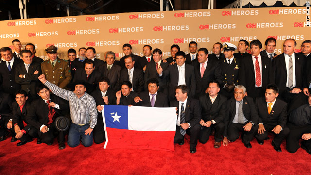The Chilean miners have become international celebrities since their underground ordeal was broadcast worldwide.