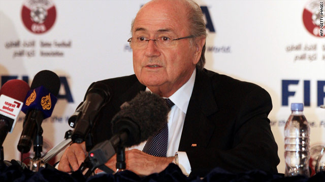 Sepp Blatter has said sorry for making comments about gay fans going to the World Cup in Qatar.