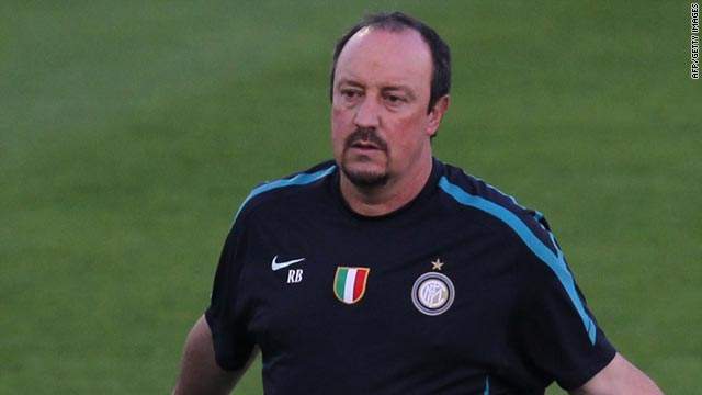 Rafael Benitez angered Inter owner Massimo Moratti by demanding more money to spend on players next month.