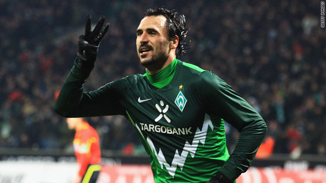 Hugo Almeida has been the lynchpin of the Werder Bremen attack in recent seasons.