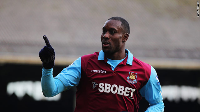 Carlton Cole scored his first Premier League double as West Ham moved off the bottom with a 3-1 win at Fulham.