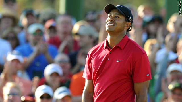 Woods came up short on his return to tournament golf at the U.S. Masters.