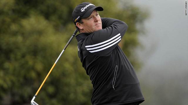 Marcus Fraser did not card a single bogey on his way to the first round lead in the Ballantines Championship.