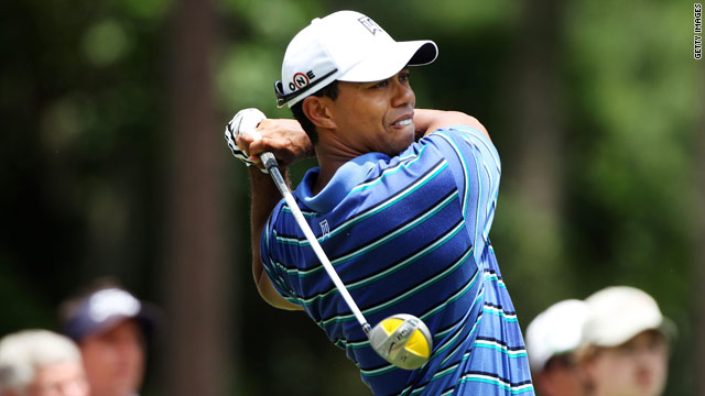 Tiger Woods won the Players Championship for the only time in 2001, taking home a $1 million first prize.