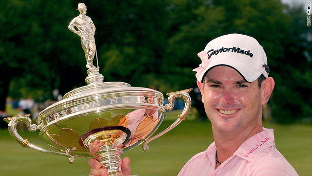 South Africa's Rory Sabbatini won the Byron Nelson Championship in 2009.
