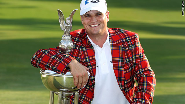 Zach Johnson leapt up to 15th on the U.S. PGA Tour money list with his $1.11 million first prize at Fort Worth.