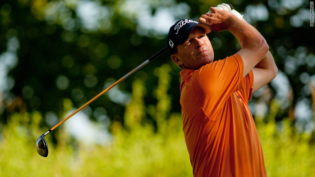 Steve Stricker followed an opening round of 60 with a five-under par 66 to lead the John Deere Classic by one stroke.