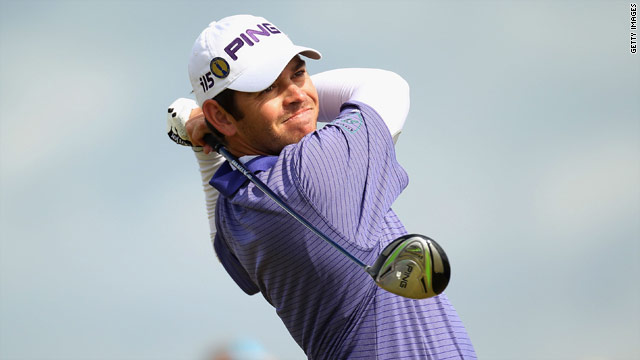 Oosthuizen carded a second round 67 on his way to matching the halfway record at St.Andrews.