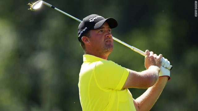 Peter Hanson is looking good for a Ryder Cup place after taking a share of the lead in the Czech Open.