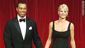 Tiger Woods and Elin Nordegren will share custody of their two young children.