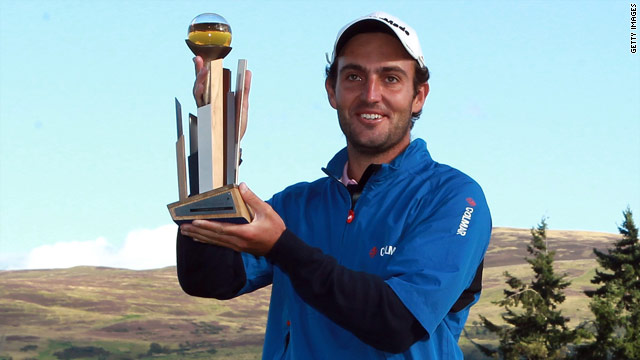 Italian Edoardo Molinari was picked in Europe's Ryder Cup team just an hour after he won the Johnnie Walker Championship.