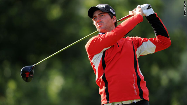 John Parry kept a bogey off his card to hold the halfway lead in the Austrian Open on Friday.