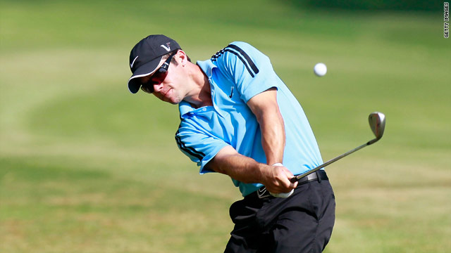 Paul Casey shared the joint lead after the first round of the Tour Championship after a 66.