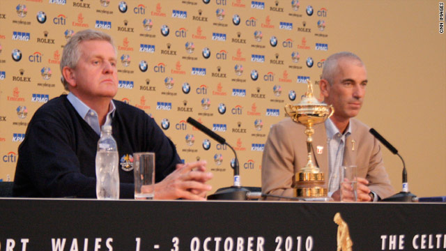 Corey Pavin and Colin Montgomerie will both lead their teams into battle, hoping to bring home the Ryder Cup.