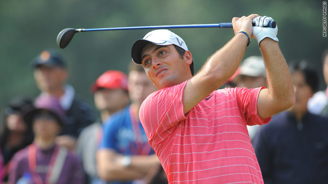 Molinari is yet to be headed as he continues to lead after the third round of the HSBC Champions Trophy.