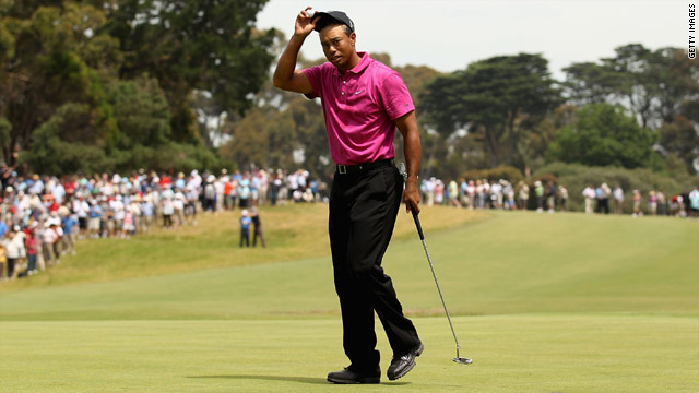 Tiger Woods saw his five-year reign as world number one ended by Lee Westwood last week.
