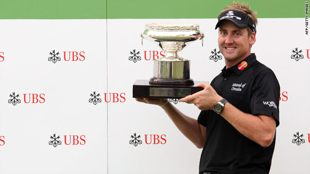 Ian Poulter secured his second title of the 2010 season with victory at the UBS Hong Kong Open.
